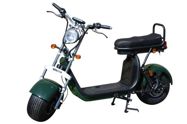 Fatbee H1 Scooter in British Racing Green