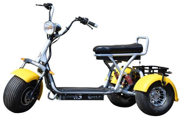Fatbee X3 Golf Scooter in Yellow